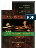Anjos Caídos e as Origens do Mal - Elizabeth Clare Prophet