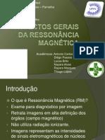 Aspectos Gerais da Ressonância Magnética - Seminário Biofísica