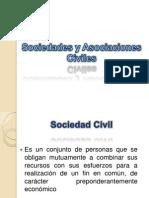 Sociedades y Asociaciones Civiles
