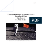 A Balance Assessment of Japan and China's Space Capabilities