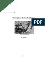 The Origin of the Comfort Woman