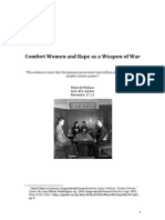 Comfort Women and Rape as a Weapon of War