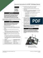 Altair 5X Sensor Replacement Instructions 10114745