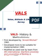 VALS (value attitude & lifestyle survey)