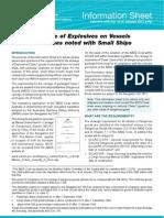 Explosives Info Sheet