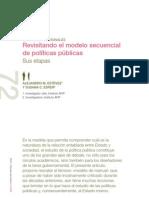 Revisando el modelo secuencial de políticas públicas.