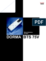 DORMA Serie BTS 75V Freno Hidraulico
