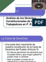 Capitulo 17 Analisis de Los Derechos Constitucionales de Los Trabajadores