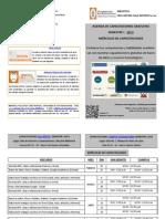 Agenda Capacitaciones Biblioteca 2013-I