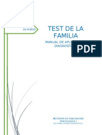 Manual Test de La Familia