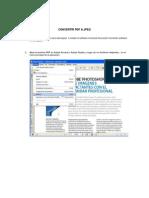 Convertir PDF a Jpeg