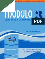 Mod Leng y Literatura 3 Sec IV Bim