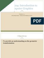 CGMB214_topic 6_ Geometric Transformation