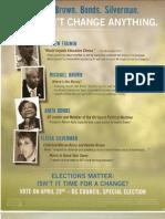 Pro-Mara DC Action Fund Mailer