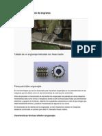 Método de fabricación de engranes