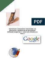 Compartir y Publicar Un Documento en Google Doc's