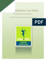 Robin Hood Case Study Final