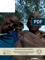 Securing Community Land Rights