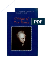 Kant Critique of Pure Reason