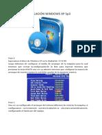 Instalacion XP SP3