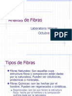 Análisis de Fibras