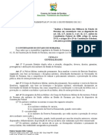 Www.casamilitar.rr.Gov.br Legislacao Estatuto Da Policia Militar de Roraima