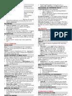 Admin Law Chart