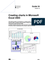 Creating Charts in Microsoft Excel 2003