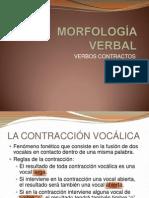 MORFOLOGÍA VERBAL. ωε.pptx