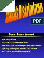 Analisis Diskriminan
