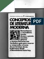 REST Conceptos literatura moderna (selección)