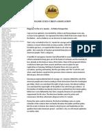 Major Cities Chiefs Association statement on U.S. Senate gun vote