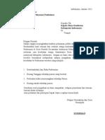 Surat Komplaint Pelayanan Puskesmas
