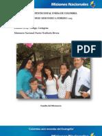 Informe Misionero a Febrero 2013 - Manga, Cartagena - Distrito 19