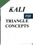 Kali Triangle Concepts from Dan Inosanto