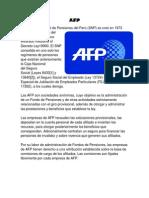 AFP y ONP