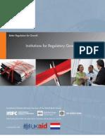 World Bank - Institutions for Regulatory Governance