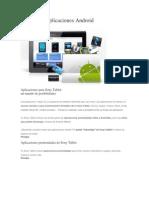 Explora Las Aplicaciones Android