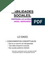 Voluntariado Taller Habilidades Sociales