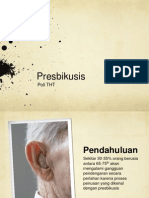 Presentation Presbikusis
