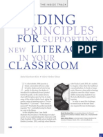 Supporting new literacies in your classroom