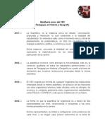 Manifiesto único del CEC
