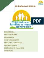 Congreso Familia 2010