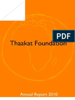 Thaakat Annual Report 2010