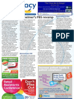Pharmacy Daily for Wed 24 Apr 2013 - Alzheimer\'s drug changes, Guild probe, Blackmores, PSA ethics, new products and much more