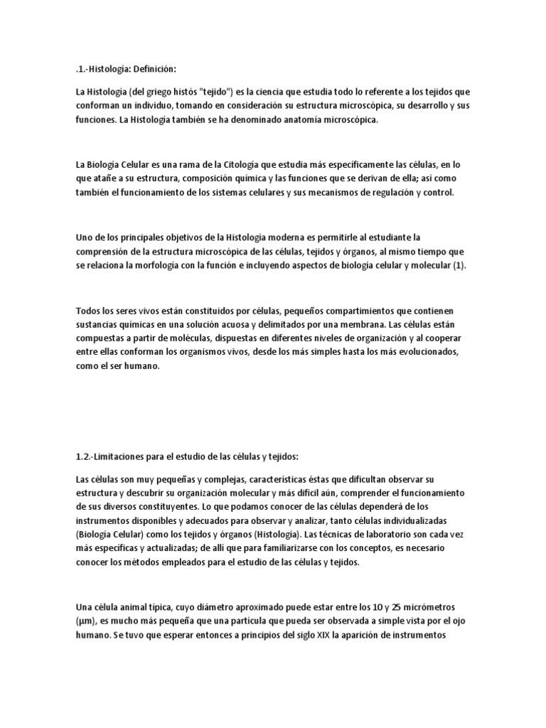 Excepcional Definición De La Anatomía Microscópica Ideas - Imágenes ...