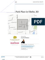 Neighborhood Report - Lackman Park Place in Olathe, Kansas 66062
