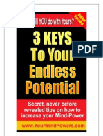 3 Keys to Your Endless Potential