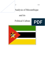 Political Analysis of Mozambique