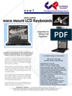 Rackmount LCD Keyboard Drawers - Chassis Plans DYK LCD